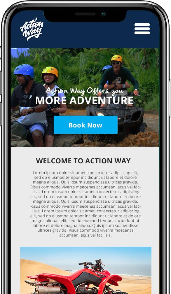 iphone tour booking