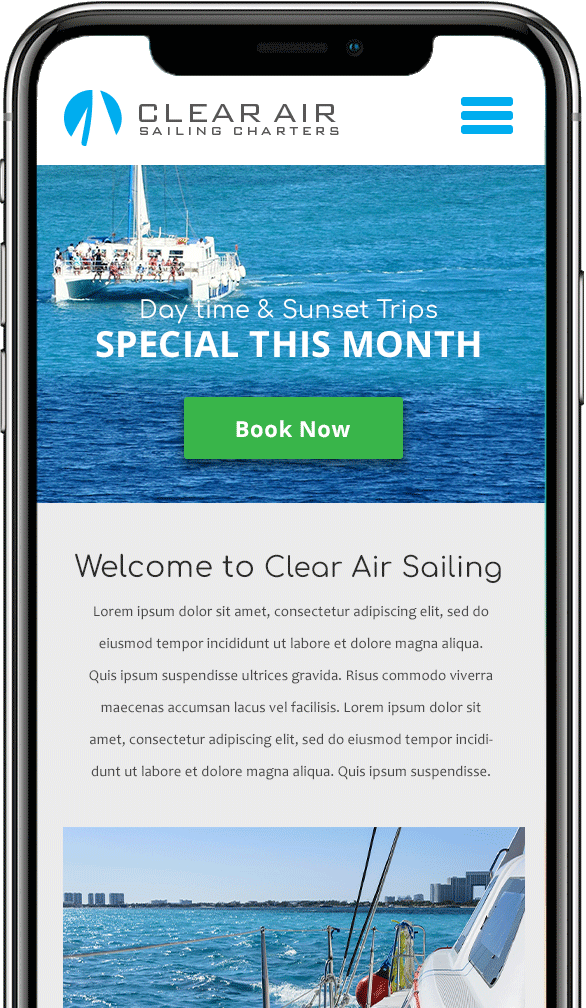 boat charter software