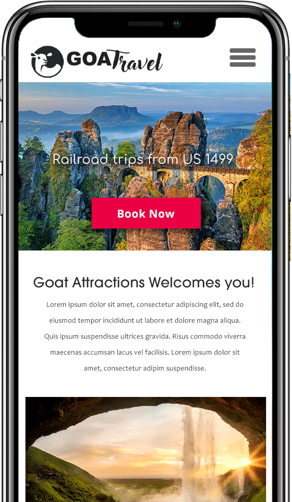 attractions booking soft on Iphone
