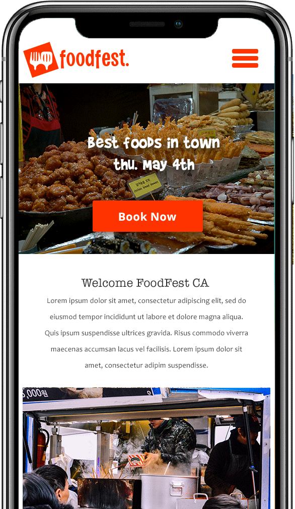 food tour mobile