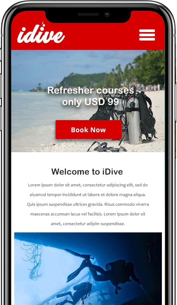 dive school Mobile