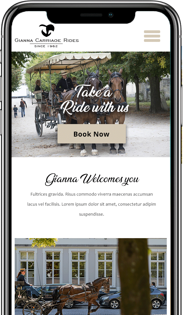 carriage ride mobile
