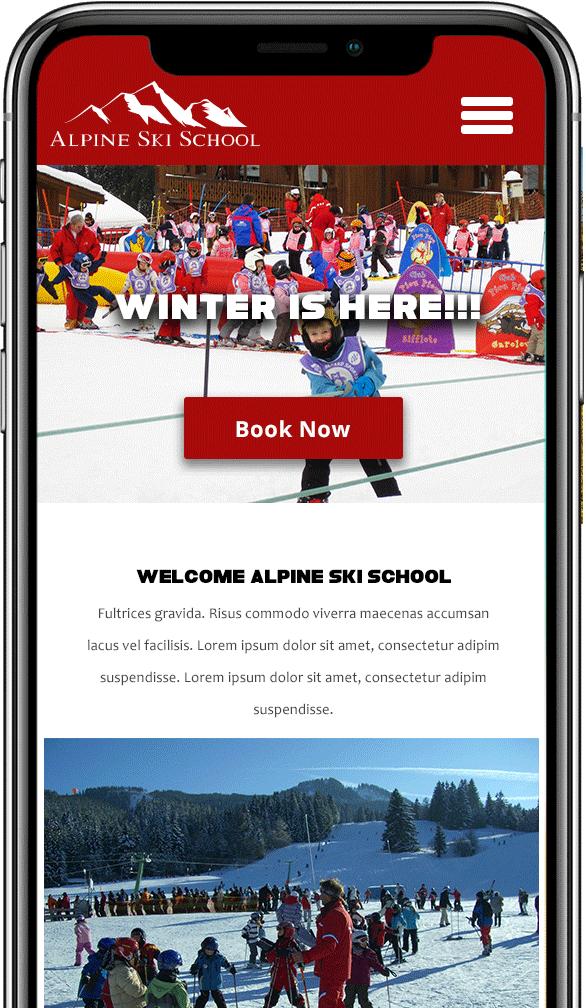 ski school mobile