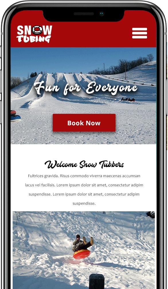 snow tubing mobile